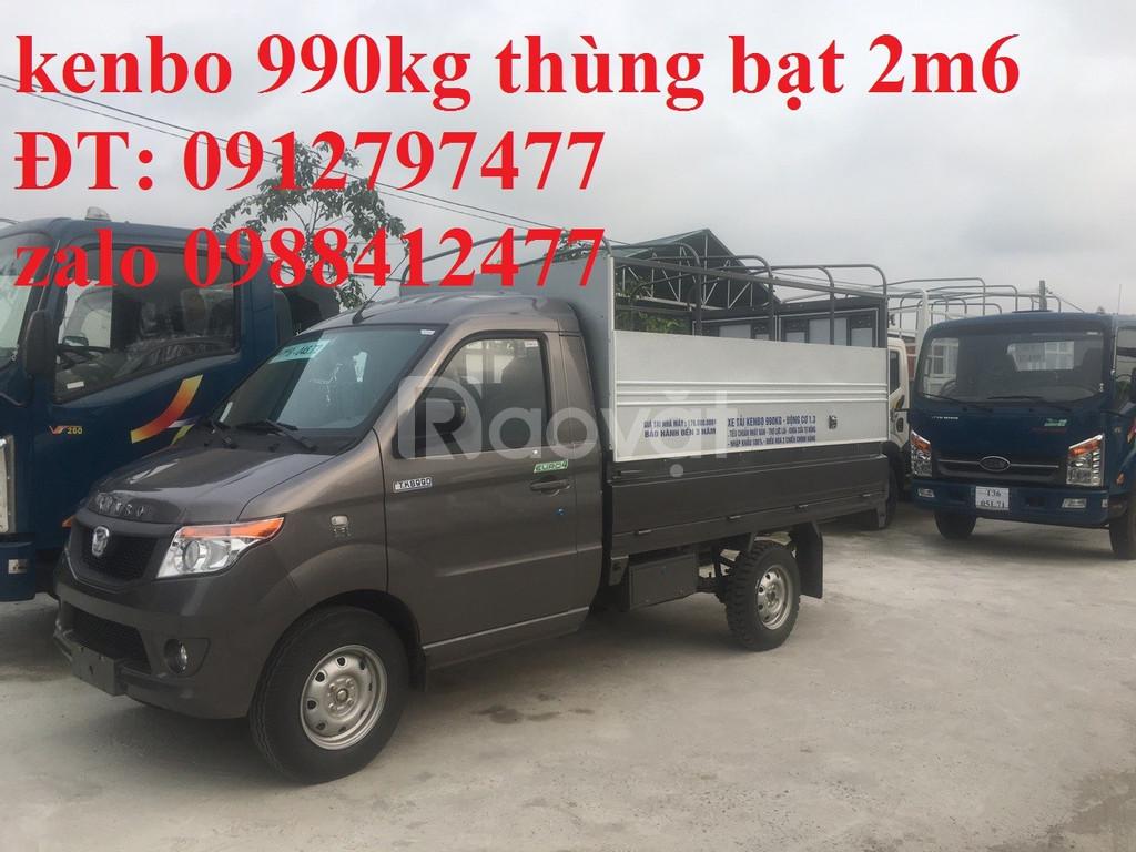 Giá bán xe tải kenbo 990kg/ xe tải nhỏ 990kg hiệu kenbo mới