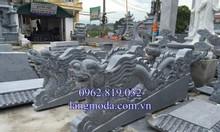 Bán rồng đá bậc thềm nhà thờ họ đình chùa lăng mộ đá