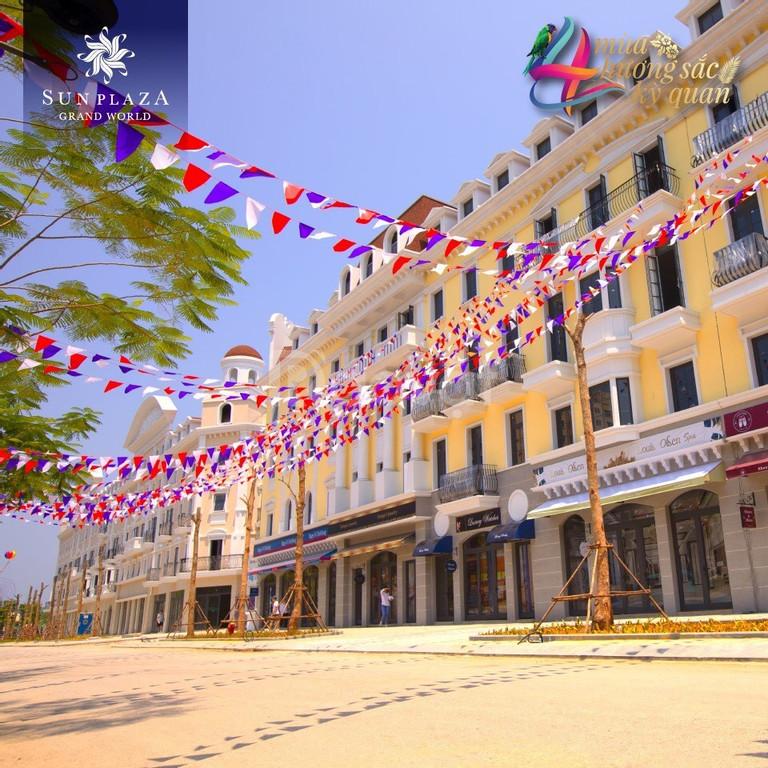 Bán Shophouse châu Âu 120m2 trung tâm Bãi Cháy, kinh doanh tốt