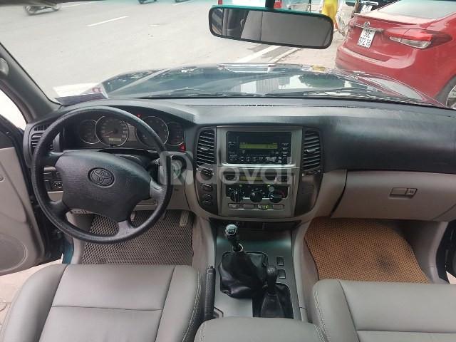 Bán Toyota LandCruiser GX màu xanh 2005
