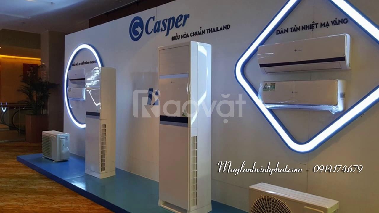 Máy lạnh tủ đứng tủ đứng Casper – Máy lạnh Casper giá tốt