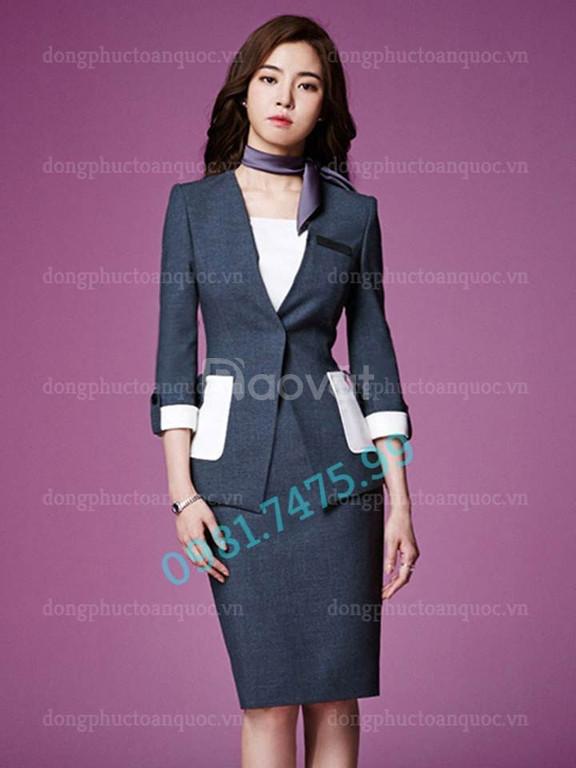Xưởng may đo đồng phục Lễ tân thời trang cao cấp, giá rẻ