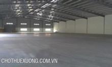 Cho thuê nhà xưởng tại Quán Gỏi bình Giang Hải Dương DT 2205m2 giá tốt