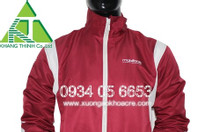 Xưởng sản xuất áo khoác đồng phục theo yêu cầu