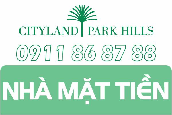 Nhà Cityland mặt tiền Phan Văn Trị 1 trệt 4 lầu giá tốt tháng 05