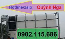 Thùng nhựa 1000L thùng đựng hóa chất thùng nhựa nuôi cá