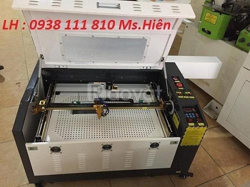 Máy laser cắt khắc gỗ, máy khắc laser 6040 giá rẻ Hà Nội