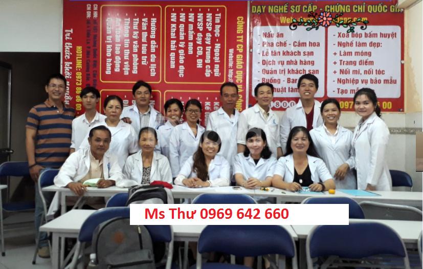 Khóa học xoa bóp bấm huyệt - Cấp chứng chỉ tại Đà Nẵng