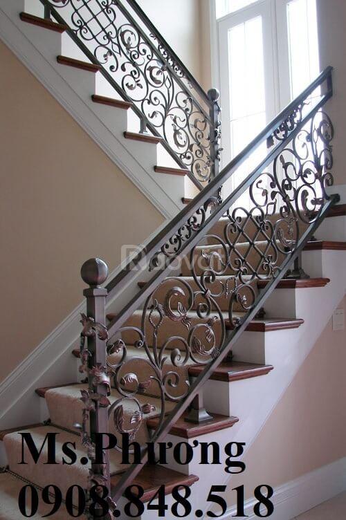 Cổng, cửa, lan can, hàng rào sắt cắt CNC, sắt uốn cho nhà đẹp