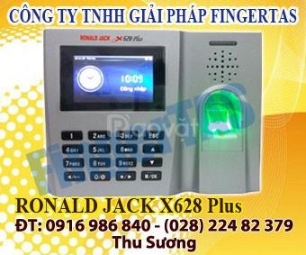 Chuyên lắp máy chấm công vân tay thẻ cảm ứng ronald jack x628plus