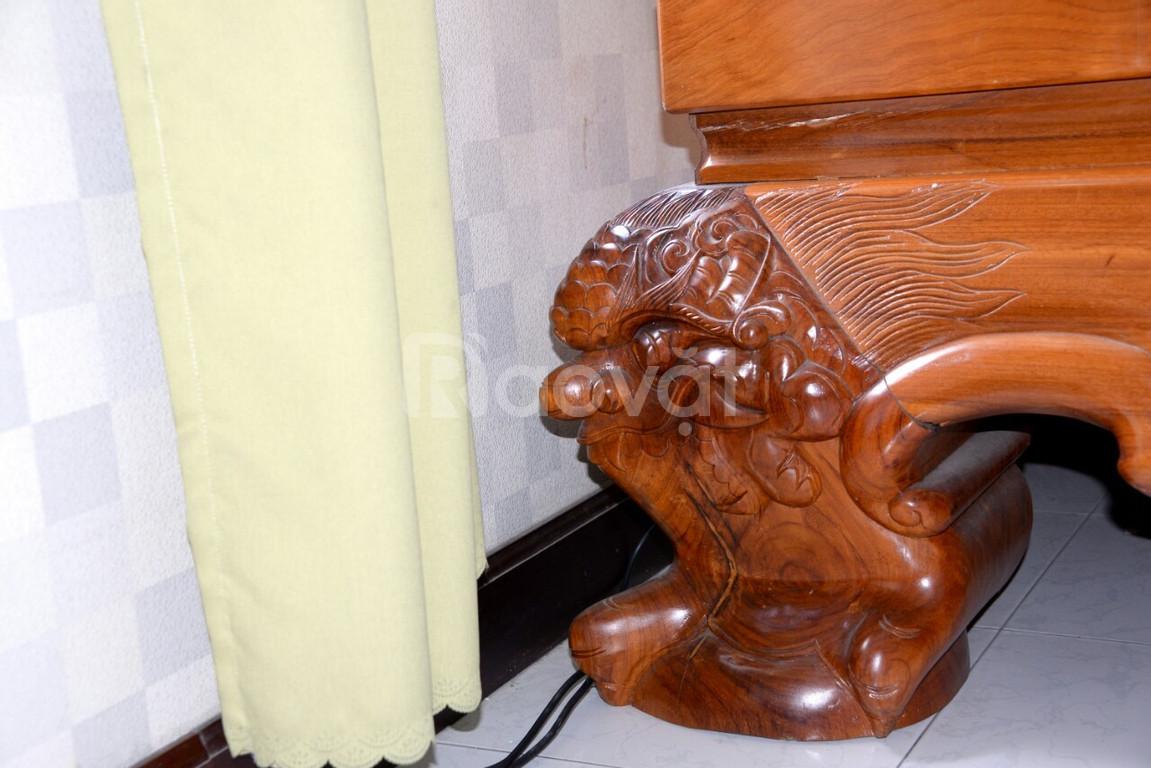 Cần bán sập gỗ Gõ đỏ, đẹp, nguyên tấm, giá rẻ (ảnh 5)