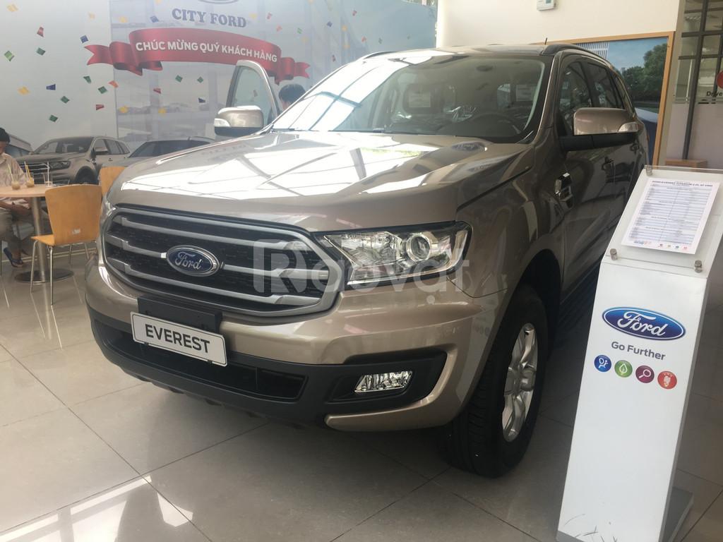 Ford Everest giảm giá, quà khủng