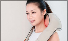 Máy massage giảm đau vai cổ gáy hồng ngoại, đai mát xa day bóp
