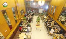 Cho thuê nhà hàng mặt phố Đại Cồ Việt, mặt tiền 6m, 120m2 X 3 tầng