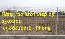 Hàng rào thép, lưới thép hàng rào, hàng rào lưới thép d5 a50x200