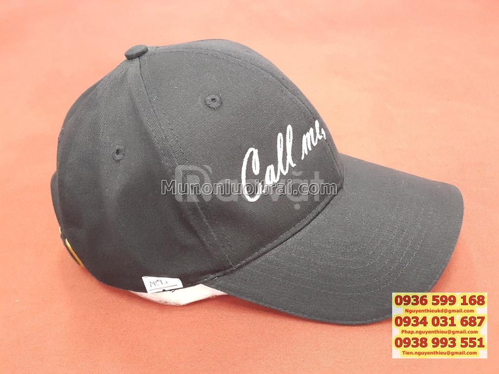In mũ nón quảng cáo giá rẻ, in mũ nón quảng cáo theo yêu cầu