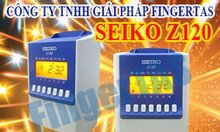Chấm công thẻ giấy bền Seiko Z120 lắp đặt free