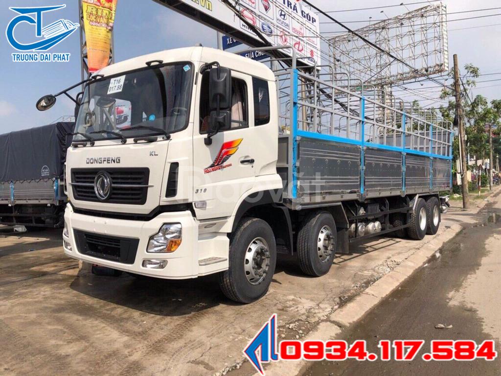 Dongfeng Hoàng Huy 4 chân - Dongfeng YC310 4 giò - xe tải 17T9