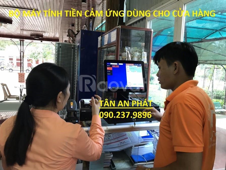 Lắp đặt máy tính tiền cho siêu thị bách hóa tại Trà Vinh