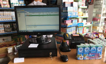 Bán trọn bộ máy tính tiền cho shop, tạp hóa tại Nha Trang giá rẻ
