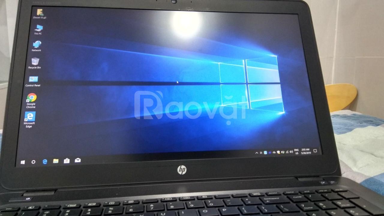 Máy tính Zbook HP cấu hình mạnh, đời 15u G3 i7 6600U