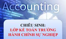 Đào tạo kế toán trưởng hành chính sự nghiệp tại Đà Nẵng