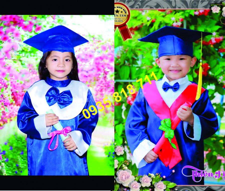 Lễ phục tốt nghiệp mầm non tiểu học HCM