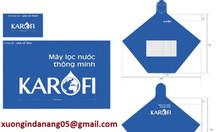 In logo công ty lên áo mưa làm quà tặng tại Huế