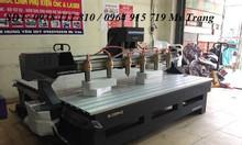 Máy cnc đục gỗ , máy đục gỗ vi tính 6 đầu