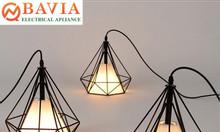 Đèn thả trần kim cương BAVIA QN-VT015