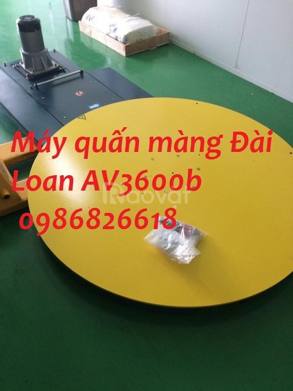 Cung cấp máy quấn màng Pallet bán tự động, máy quấn màng Đài Loan
