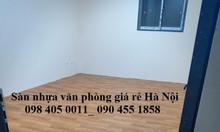 Bán sàn nhựa simili giả gỗ Hà Nội