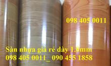 Sàn nhựa giả gỗ giá rẻ số 1 Hà Nội