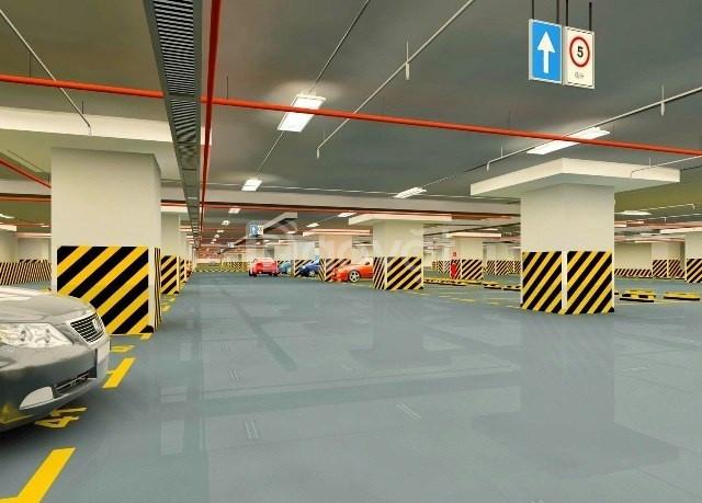 Thi công sơn kẻ vạch bãi đỗ xe tầng hầm uy tín chất lượng
