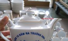 In logo bộ ấm trà Đà Nẵng