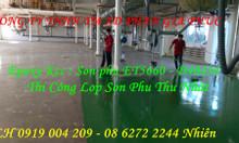Đơn vị thi công sơn sàn epoxy kcc giá rẻ Kiên Giang, Long An