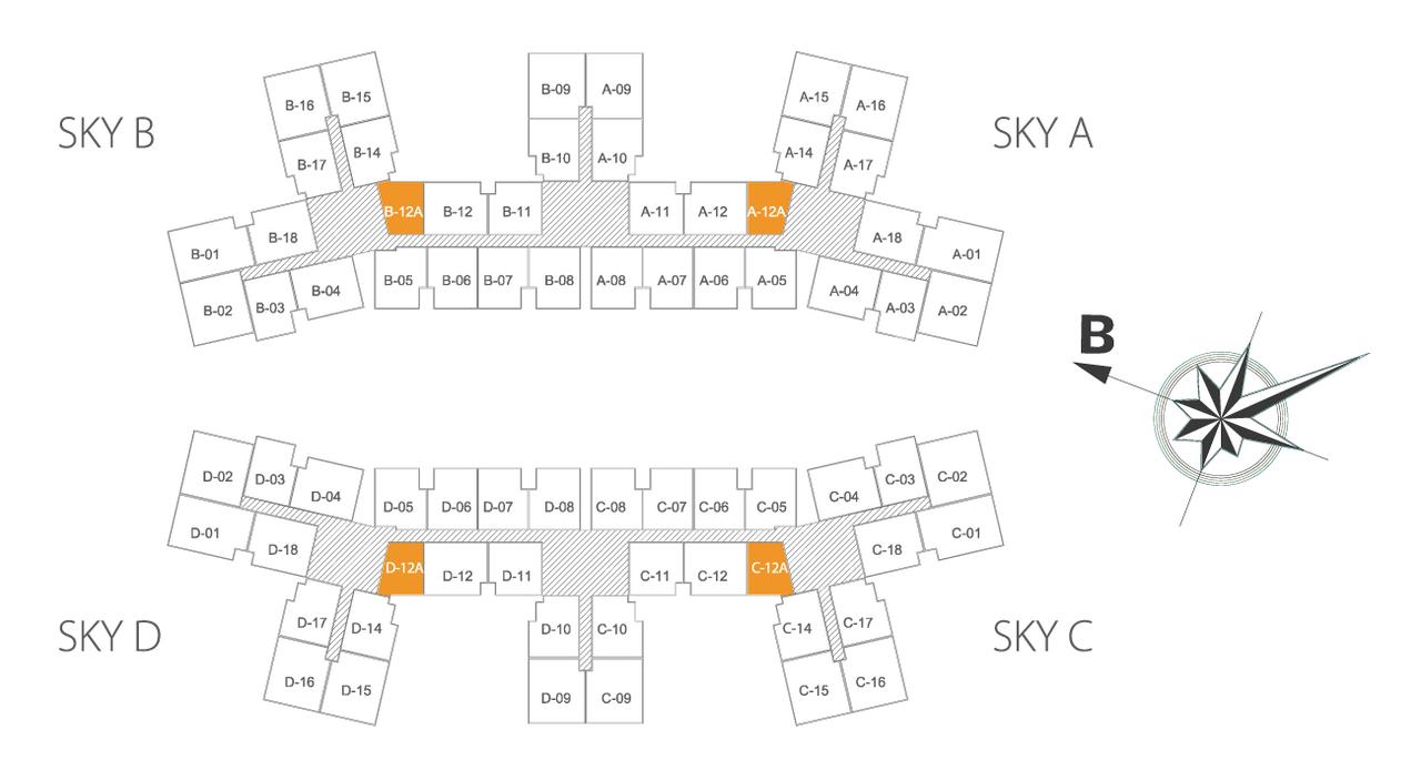 Căn hộ Sky view dự án Imperia Sky Garden