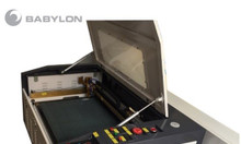 Máy khắc laser 6040 cắt da