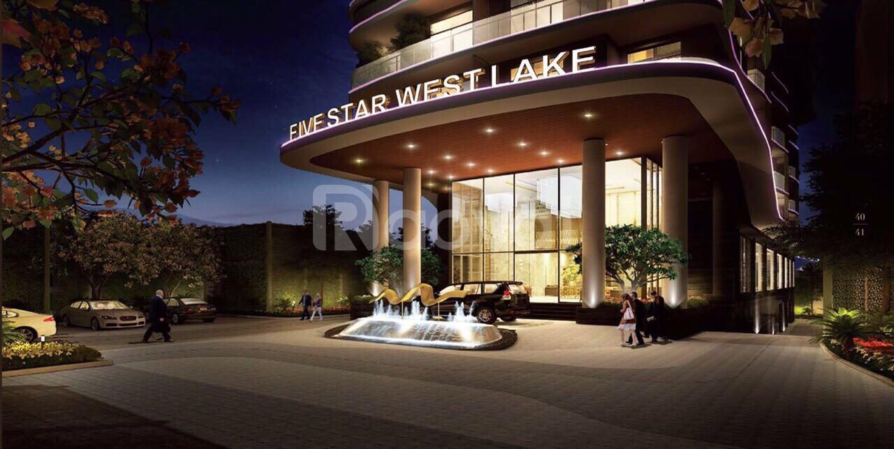 Bán chung cư Five Star Westlake Tây Hồ HN - 162 Hoàng Hoa Thám -32 căn