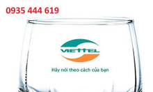 Cơ sở chuyên in logo lên ly thủy tinh giá rẻ