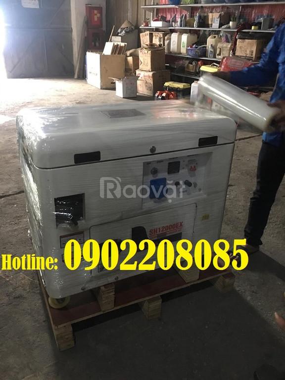 Bán Máy phát điện xăng chống ồn honda 10kva-sh12000ex nhập khẩu