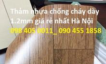 Sàn nhựa chống trơn vân gỗ giá rẻ Hà Nội
