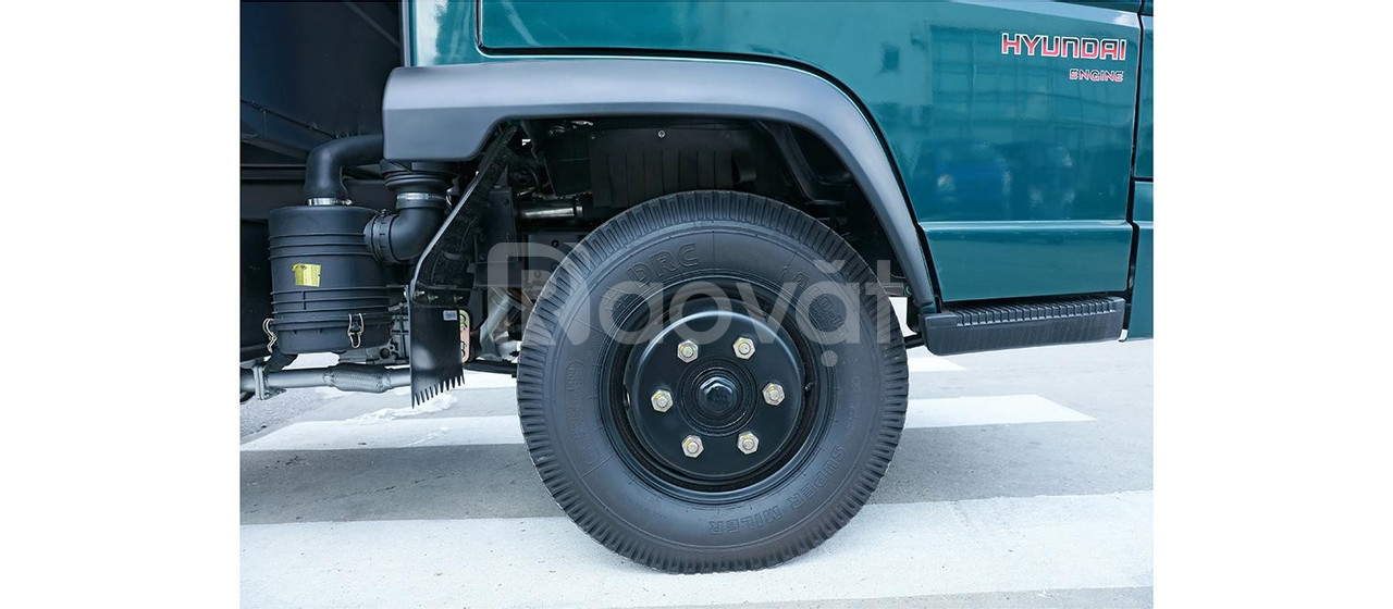 Xe ben HD 6024D giá rẻ, xe ben 2,4T, xe ben HD 2T4, xe giá rẻ