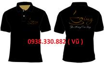 Đồng phục quán cà phê in logo cho nhân viên