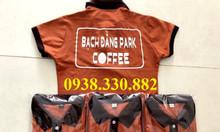 Cung cấp in logo áo thun đồng phục quán cà phê giá rẻ