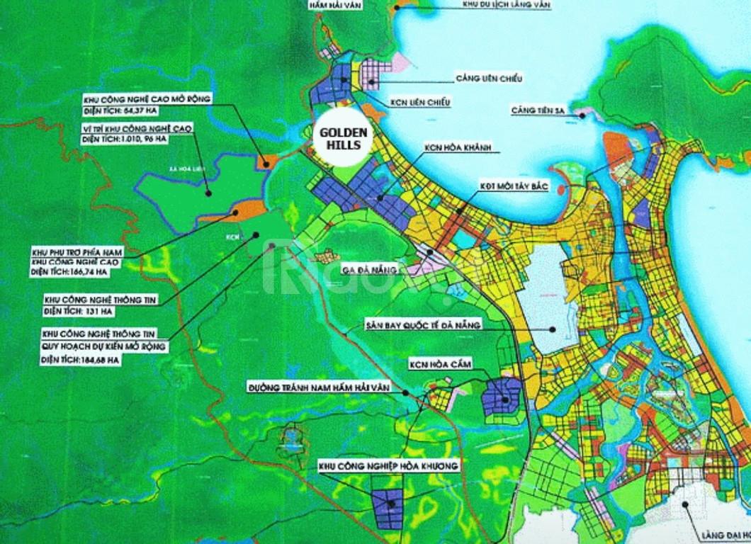 Đất nền dự án Golden Hills Đà nẵng, cơ hội đầu tư lợi nhuận hấp dẫn