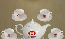 Xưởng in logo bộ ấm trà quà tặng Quảng Ngãi