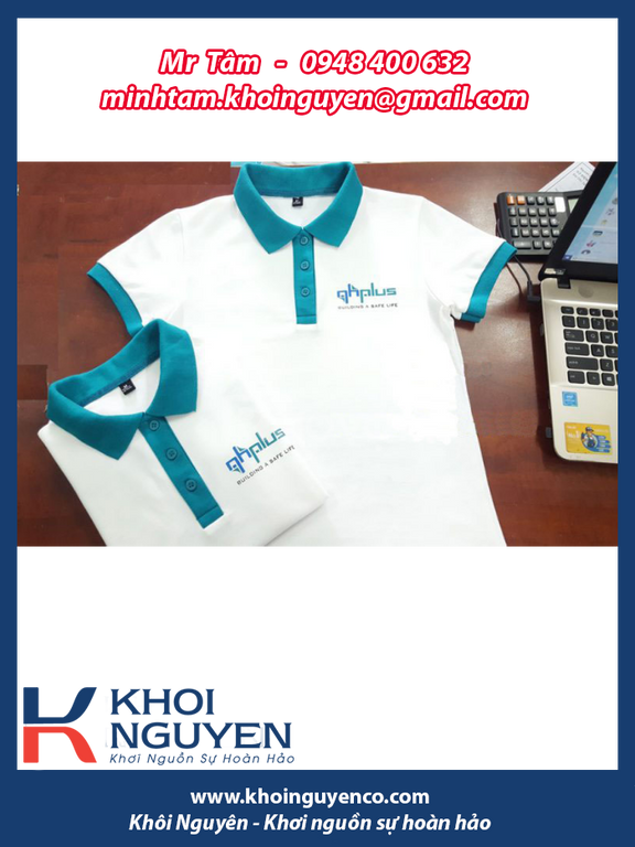 Đồng phục công ty, đồng phục nhân viên, áo cá sấu công ty, áo thun (ảnh 6)