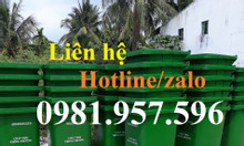 Cung cấp thùng rác nhựa công cộng, thùng rác công cộng 120 lít, 240l