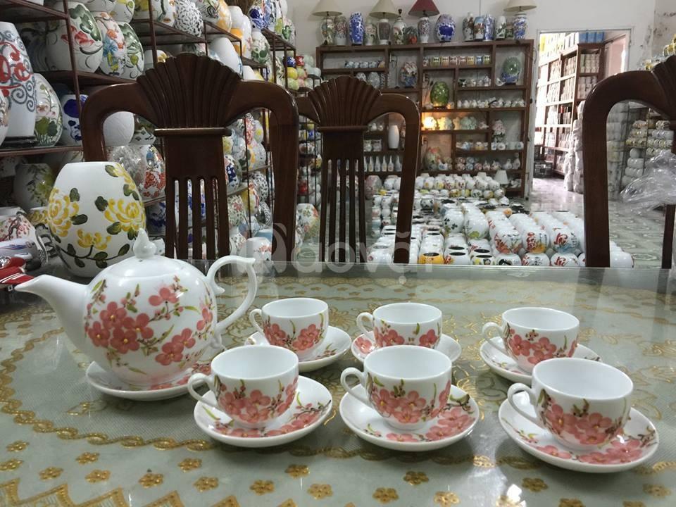 Xưởng sản xuất in logo bộ ấm trà tại Đà Nẵng
